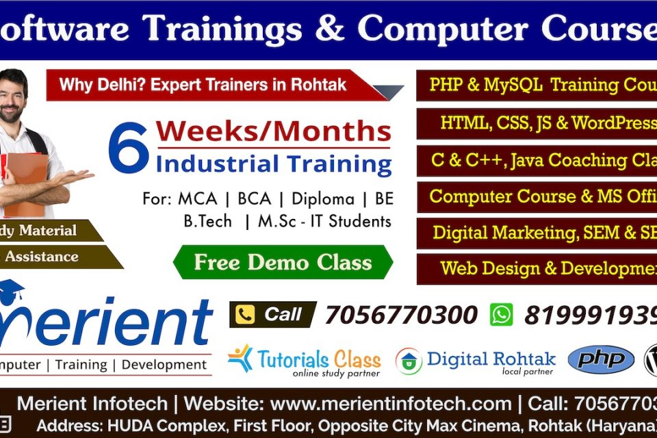 Merient Infotech - Training Institute in Rohtak