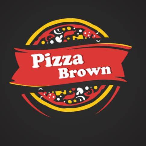 pizza brown